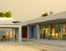 Bahama Longhouse, Great Harbour Cay, Bahamas
