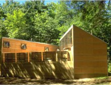 YMCA Camp PineCrest Boys Solar Shower House, Torrance, Ont